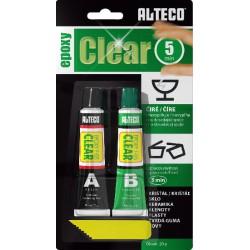 ALTECO lepidlo epoxy clear
